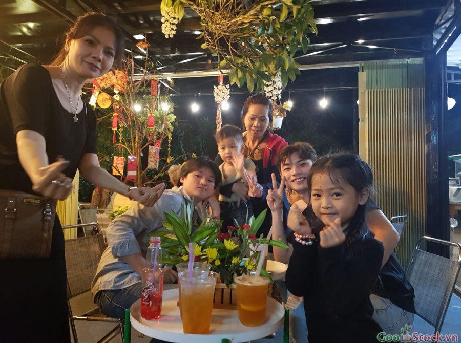 Quán trà Sữa Bảo Lộc 212 thích hợp cho không gian gia đình ấm cúng